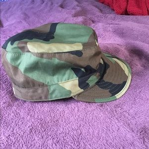 Outdoors Camouflage Cap with Ear/Neck Warmer Flaps
